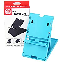 Soporte Stand Base para Nintendo Switch Ajustable Multi Angulo Color Azul