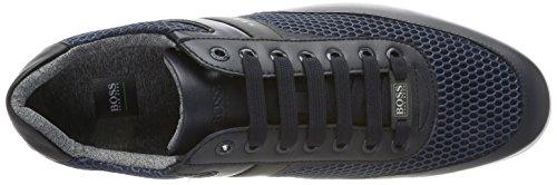 Boss Green Herren Space Lowp Air Sneaker, Blau, 39 Eu