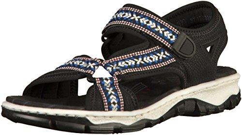 Rieker Rieker Damen Rieker Damen Damen Sandalette Damen Rieker Rieker Sandalette Sandalette Sandalette F6wzq7z