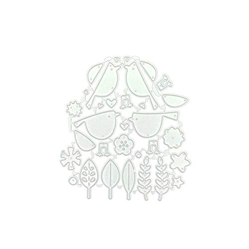 AKIMPE Cutting Dies Stencil Metal Template DIY for Scrapbook Album Paper Card Making on Clearance Embossing Dies Cuts F