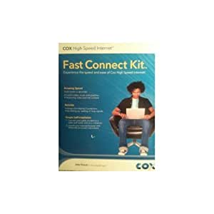 COX COMMUNICATIONS High Speed Internet Fast Connect Kit