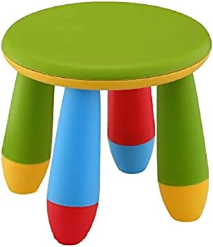 20 x 15 x 26 cm verde in plastica Sgabello per bambini Mueblear 90055