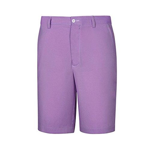 Footjoy Golf Shorts - FootJoy Performance Chambray Golf Shorts (34, Lavender)