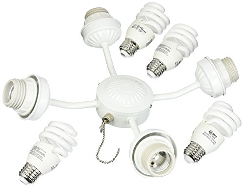 Emerson Ceiling Fan Light Kit F480WW Three Fitter 13-Watt Compact Fluorescent Bulbs Review