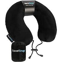 NeckSnug - Luxury Travel Pillow - 100% Memory Foam Neck Pillow for Travel