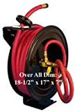 1/2'' X 50' Retractable Air Hose Reel Wall Truck Mount
