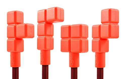 Quell O Quad Blockz Pencil Toppers 4 Pack