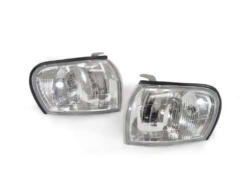 DEPO 1995-2001 Subaru Impreza GC8 GF8 Clear Corner Signal Lights Set