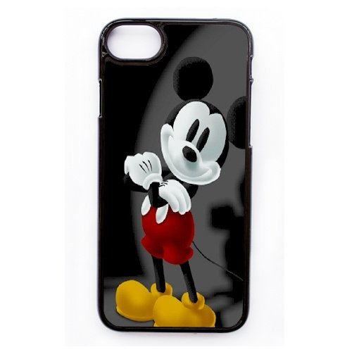 Coque,Apple Coque iphone 7 (4.7 pouce) Case Coque, Generic Mickey Mouse Cover Case Cover for Coque iphone 7 (4.7 pouce) Noir Hard Plastic Phone Case Cover