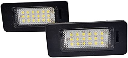 2x Led Kennzeichenbeleuchtung E90 E71 E70 E60 E39 Kennzeichen Licht 6000k Xenon Weiß Canbus Kein Fehler Auto