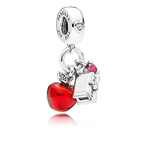 Pandora Disney Snow White's Apple & Heart Dangle Charm 797486CZRMX