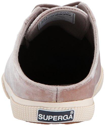 Superga Donna 2288 Crushvellutow Fashion Sneaker Grigio Chiaro