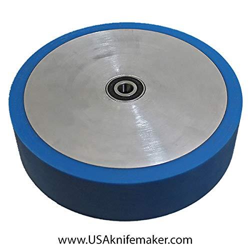 Wheel - Contact Wheel 8''x2'' Poly 60 Duro Blue