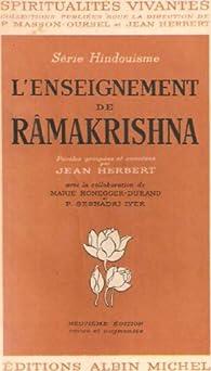 Book's Cover ofL'enseignement de Râmakrishna