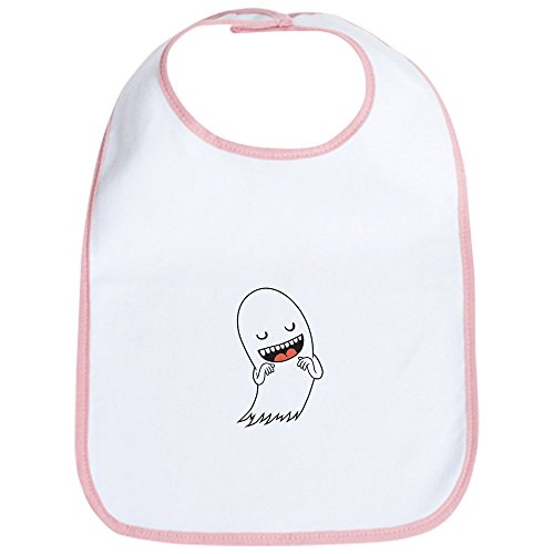 CafePress - Halloween Ghost Bib - Cute Cloth Baby Bib, Toddler Bib
