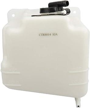 BRTEC Coolant Reservoir Pressurized bottle with Cap for Chevy Blazer C1500 C2500 Suburban C3500 1988-2000 GMC Yukon 1999 2000 Cadillac Escalade
