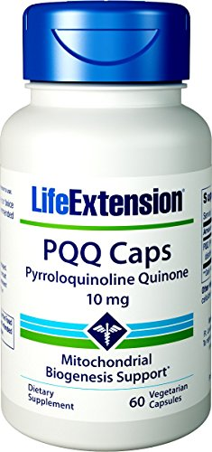 Life Extension PQQ 10 mg Vegetarian Capsules, 60 Count