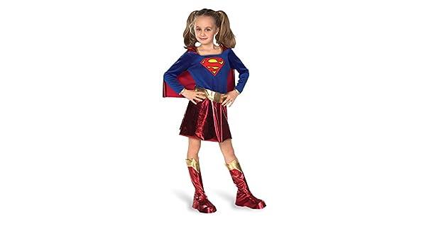 SUPERGIRL Fancy Dress Costume - Children - S (disfraz): Amazon.es ...