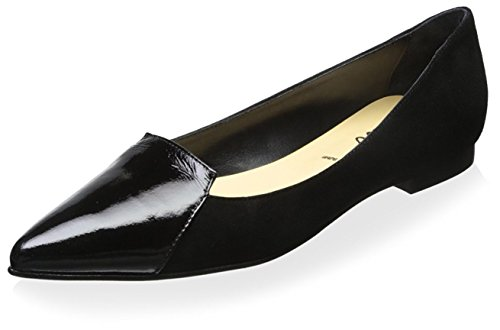 Butter Women's Jiggy Flat - Black/Patent - 6 B(M) US