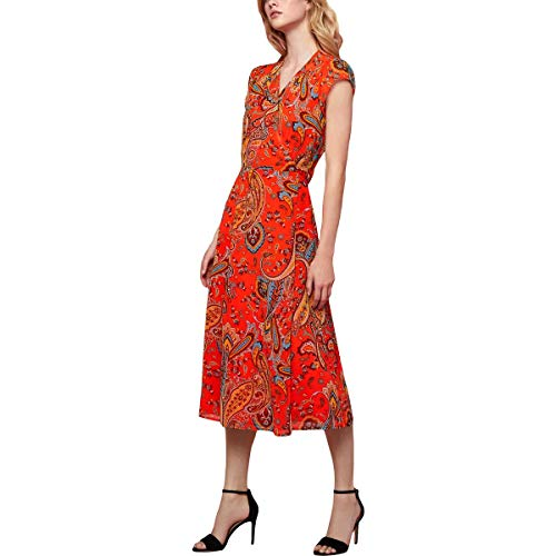 Juicy Couture Womens Rustic Paisley Wrap Dress