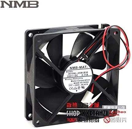 Original For NMB 3610KL-05W-B30 9225 9CM 24V 0.11A two line drive fan