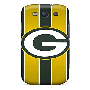 Shock Absorption Hard Phone Cover For Samsung Galaxy S3 With Support Your Personal Customized Colorful Green Bay Packers Series AlainTanielian