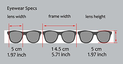 83e1099757 Amazon.com  VeryHobby® Round Clubmaster Clear Lens Blended Bifocal Reading  Glasses (+1.25