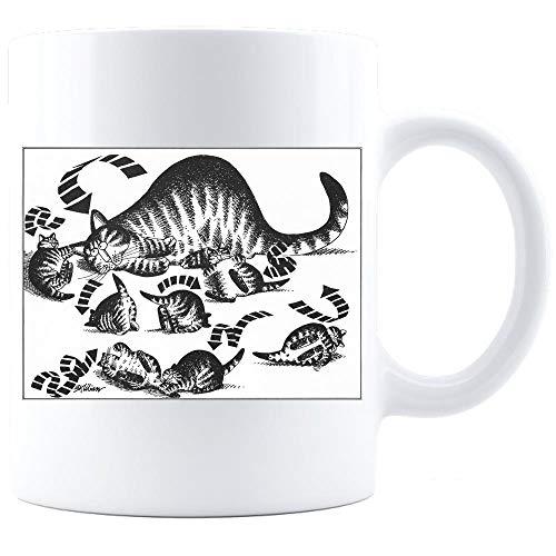 Vintage Kliban Cats, Funny Cat Mug, B Kliban Mug, Vintage Crazy Mug, Cat Art Print, Kliban Cat, Vintage Kliban Cat, Funny Cat, Coffee Mug