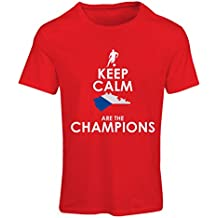 N4496F T shirts for women Czechs are the champions