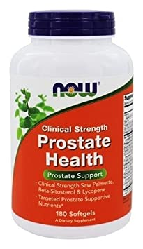 Now Foods Clinical Strength Prostate Health, Softgels, SizeLimit Pack of 270 Count Total