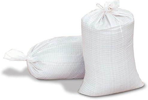 Bolsas de arena - vacío blanco de polipropileno tejido sacos ...