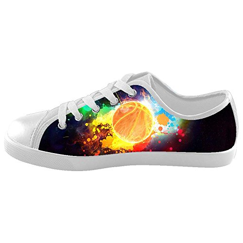 Custom Lop-top Colorful Basketball Canvas Shoes Footwear Sneakers Flat Shoes Kid's Shoes