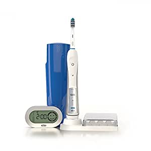 Oral-B Professional Deep Sweep with Smart Guide Triaction 5000 Rechargeable Electric Toothbrush, 1 Count