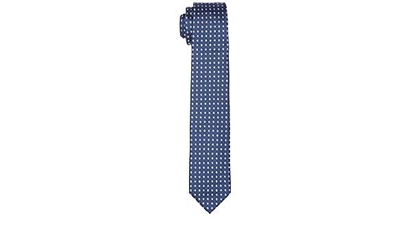 Tommy Hilfiger Tie 7cm TTSDSN17103 Corbata, Azul (403), Talla ...