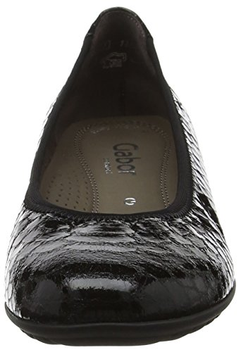 Women's Shoes Gabor 87 Black Schwarz Casual Splash HqwpdB