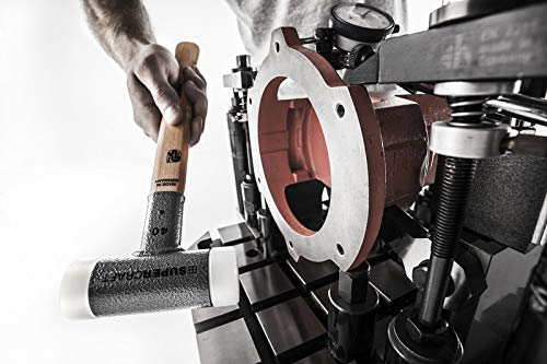 "HALDER SUPERCRAFT 3366.035 Dead Blow Hammer,20 oz.,13-5//32/"""