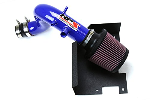 HPS Blue Shortram Air Intake + Heat Shield Short Ram for 11-14 Hyundai Sonata 2.0L Turbo ()