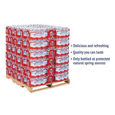 Alpine Spring Water, 16.9 oz Bottle, 24/Case, 84 Cases/Pallet by Crystal Geyser
