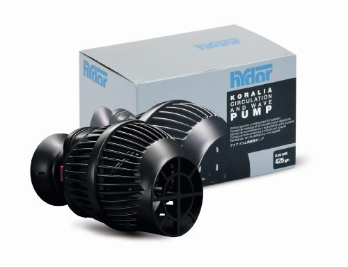 - Hydor Koralia Nano 425 Aquarium Circulation Pump, 425 GPH