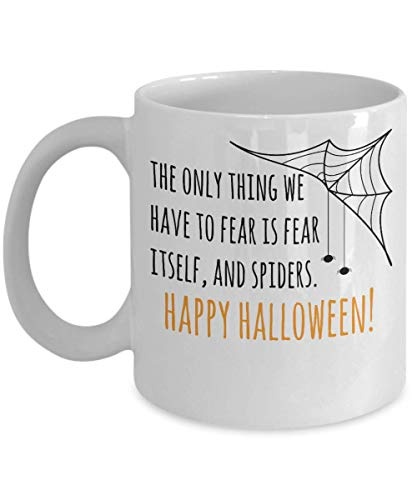 Happy Halloween Spiders Web Trick or Treat Costume Scary Party Souvenir Giveaways Ideas Candy Holder Coffee Mug Souvenir Giveaways Tea Cup 18/15 J -