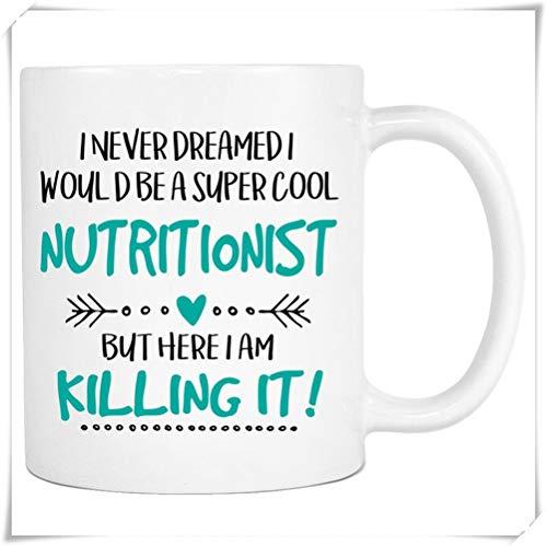 Mr.Fixed - Super Cool Nutritionist, Occupational Mug, Killing It, Nutritionist Mug, Mug Nutritionist, Nutritionist Gift, 11oz Ceramic Coffee Mug, Unique Gift ()