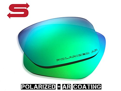 GREEN Oakley Holbrook Lenses POLARIZED by Lens Swap. QUALITY & PERFECT - Holbrook Lenses Polarized