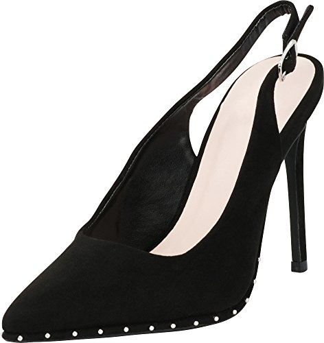 Cambridge Select Women's Closed Pointed Toe Studded for sale  Delivered anywhere in Canada
