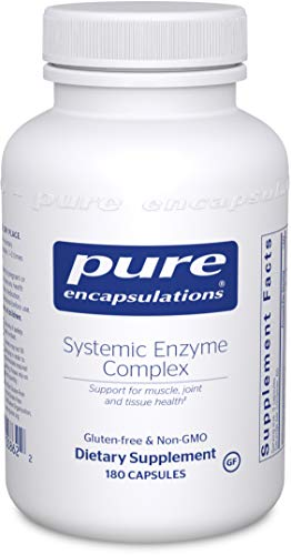 Pure Encapsulations - Systemic Enzyme Complex - Synergistic Formula to Support Muscle, Joint and Tissue Health* - 180 Capsules