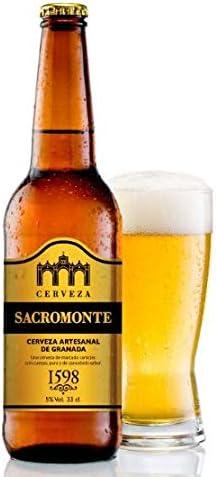 Cerveza Artesanal Sacromonte - 12 Unidades 33cl - Pale Ale - Triple Malta