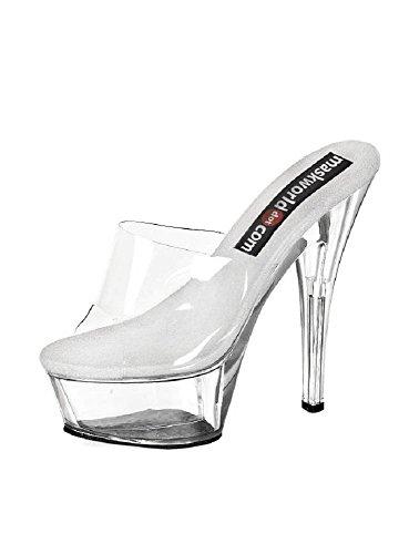 Higher-Heels - Sandalias para mujer Beige - Clair