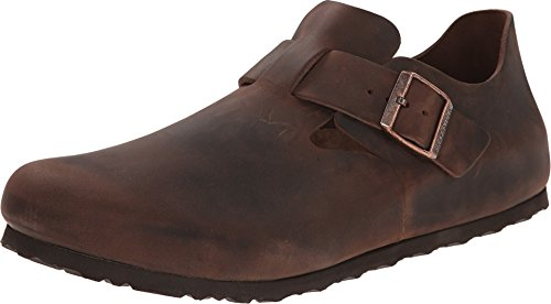 Birkenstock Unisex London European Loafer Habana Oiled Size 36 EU (5-5.5 N US Women)