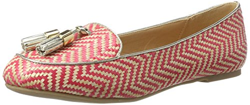 Miss KG Flats Women's Red Ballet 50 Neptune Closed Red Toe UUrOqdT