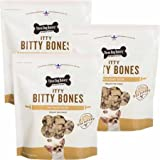 Three Dog Bakery Itty Bitty Bones Peanut Butter 3PACK (6 lb)