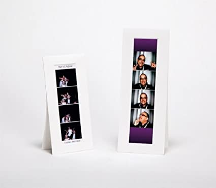 Amazon.com : Photo Booth Strip Frames 2 x 6 (Pack of 25), Tap Easel ...